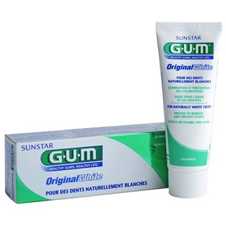 GUM Original white Tandkräm 75ml